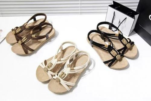 28b412ab24 New Women Sandals Fashion Summer Women Shoes Bohemia Gladiator Beach Flat  Casual Sandals Leisure Female Ladies Sandals Women