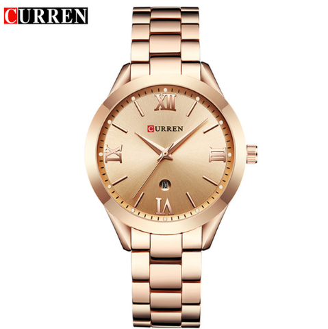 2019 CURREN Gold Watch Women W…