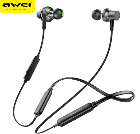 2019 AWEI G20BLS Bluetooth Earphone Wireless Headp…