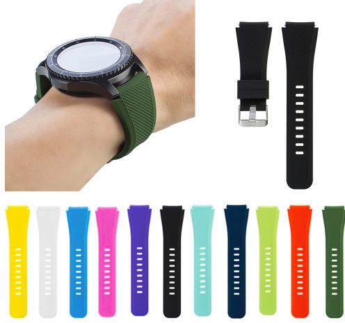 2019 1Pair Silicone Bracelet Strap Watch Band For …