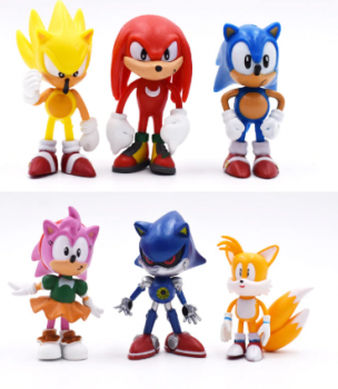 Sonic Figures Toy Pv…