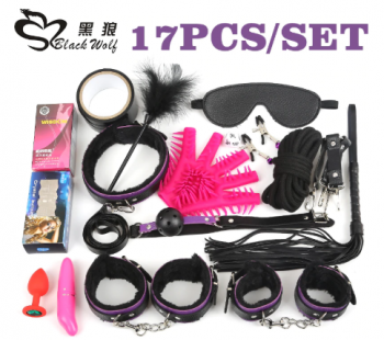 17Pcs /set BDSM Bond…