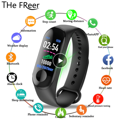 2019 Color Screen Smart Watch …