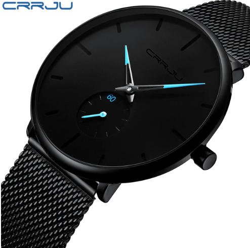 2019 CRRJU Fashion Watch Men W…