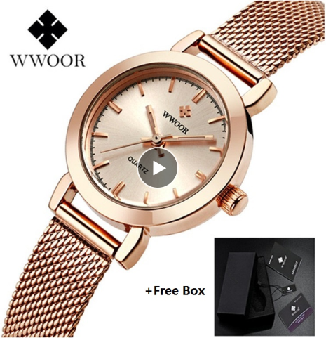 2019 WWOOR Ladies Wrist Watche…