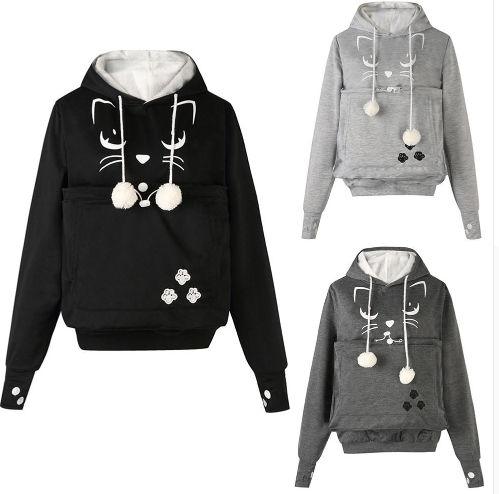 2019 Cute Hoodies Big Pocket H…