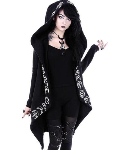 2019 Rosetic Hoodies Gothic Ca…