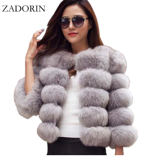 Mink Coats Women 2019 Winter N…