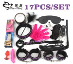 17Pcs /set BDSM Bondage Set Pl…