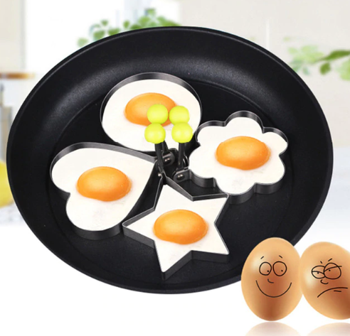 1Pcs Stainless Steel Fried Egg…