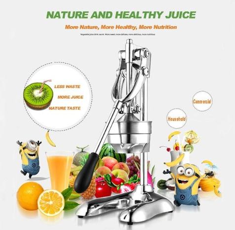 Manual Hand Press Juicer Squee…