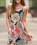 HOT dress Womens Summer Vintag…