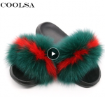 Coolsa Summer Women Fox Fur Sl…