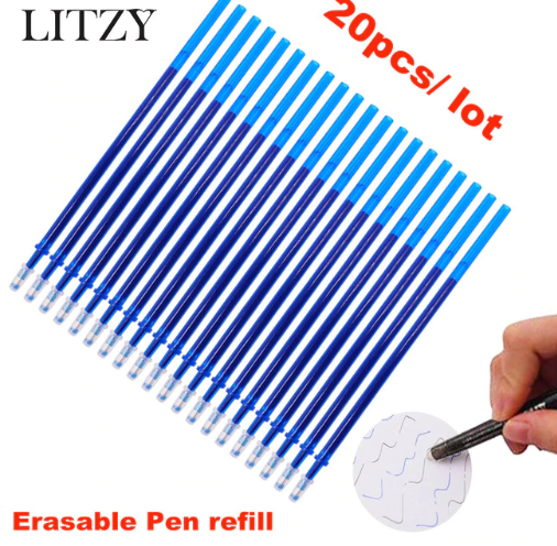 New 2019 Erasable Pen Refill 2…